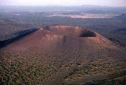Volcanic destruction? Not always