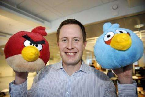 """With Angry Birds game, """"you get instant gratification in 40 seconds,"""" says Rovio CEO Mikael Hed"""