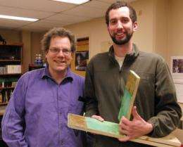 WSU physicists devise new way to analyze a bloody crime scene