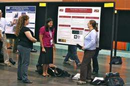 Blind student presents 3-D tactile images to national microscopy conference