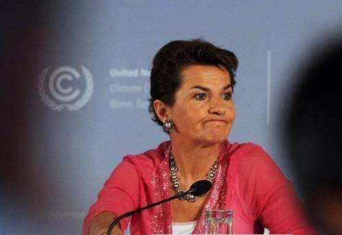 Christiana Figueres is the executive secretary of the UN Framework Convention on Climate Change