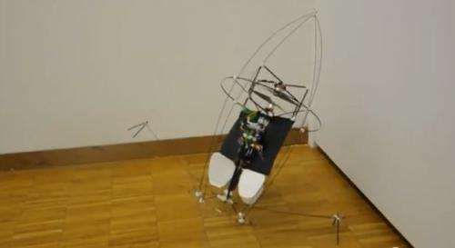 Insect-like flying robots self-recover after crash (w/ Video)