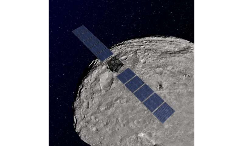 Dawn easing into its final science orbit