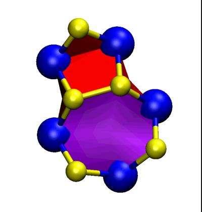 Dreidel-like dislocations lead to remarkable properties