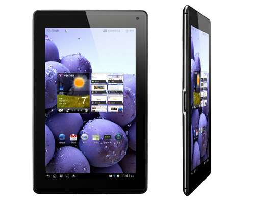 Lg to introduce its first lte tablet