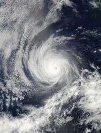 NASA's Aqua satellite providing 2 views of Hurricane Emilia