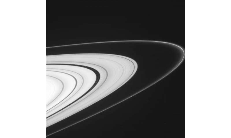 Saturn's rings are back