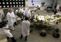 Scientists see red on NASA cuts of Mars missions (AP)
