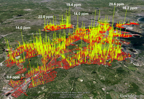 Study details natural gas leaks in Boston