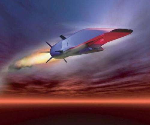 The X-51A WaveRider can reach speeds up to 3,600 mph (5,793 kph)