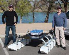 UA engineer launches robotic planetary Lake Lander