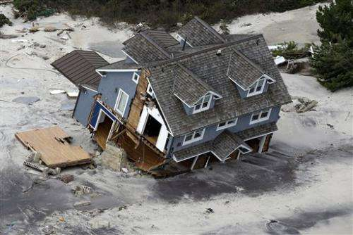 UN climate scientist: Sandy no coincidence
