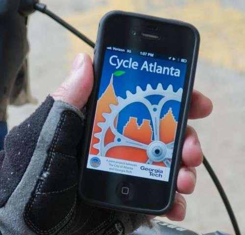 Cycling app to assist city of Atlanta