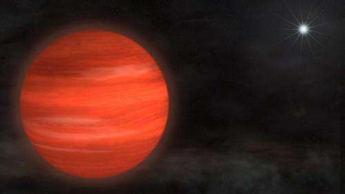 Astronomers directly image massive star's 'super-Jupiter'