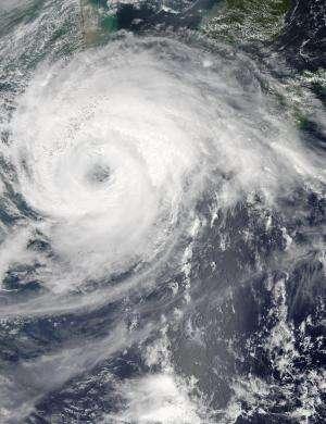 NASA sees Tropical Storm Haikui closing in on China