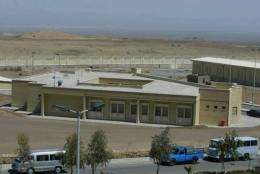 A general view shows the Iranian nuclear power plant of Natanz
