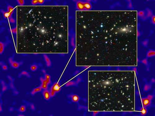 Astronomers map the universe's dark matter at unprecedented scale