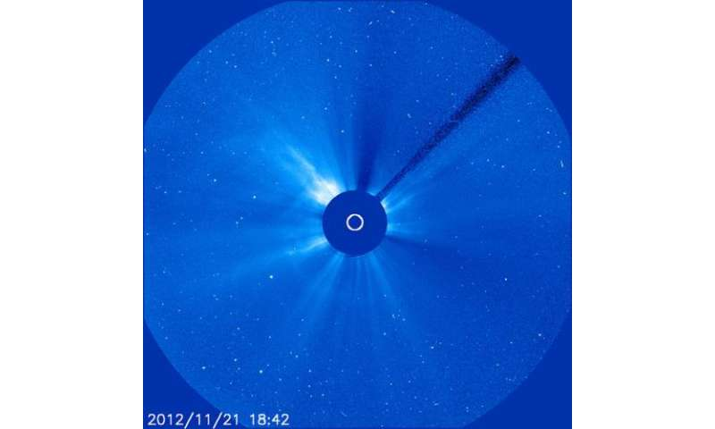 NASA spacecraft observe a Thanksgiving CME