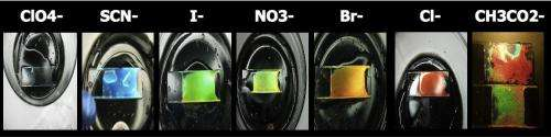 Photonic gels are colorful sensors