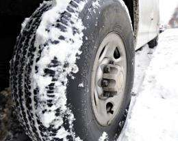 """Researchers at Leipzig university are developing the world's first-ever """"intelligent"""" tyre which adapts to the weather"""
