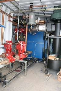 Willow biofuels program ignites with new boiler