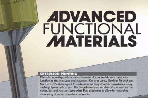 Researchers print materials for soft robotics