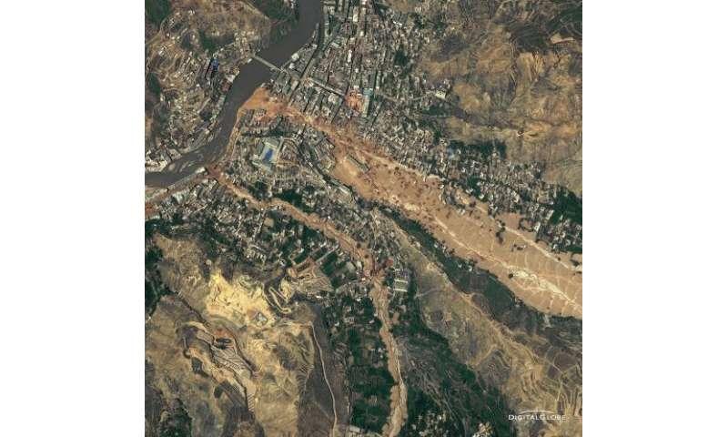 NASA's TRMM satellite confirms 2010 landslides