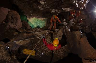 Astronauts searching for life--underground