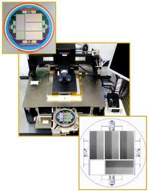 Berkeley Lab sensors enable first light for the dark energy camera