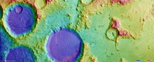 Charitum Montes: A cratered winter wonderland