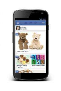 Facebook 'gifts' launch, users can send presents