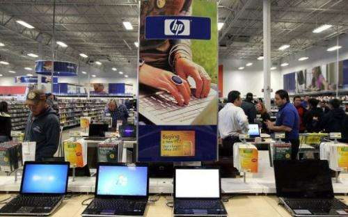 Hewlett-Packard is currently struggling amid sluggish demand as sales of tablet computers and other devices surge