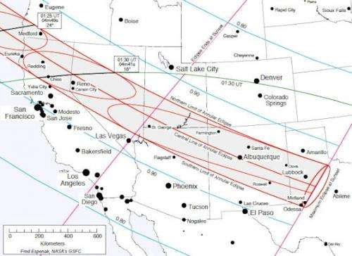 Solar eclipse this weekend