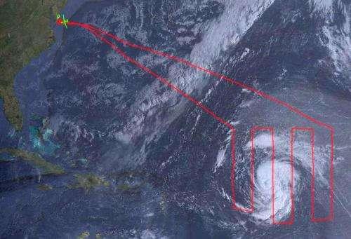 NASA Global Hawk and satellites attend Tropical Storm Nadine's 'Birth'