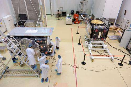 Preparing for Galileo's next launch