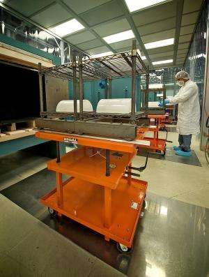 NuSTAR's mirrors baked in Zhang's glass kitchen