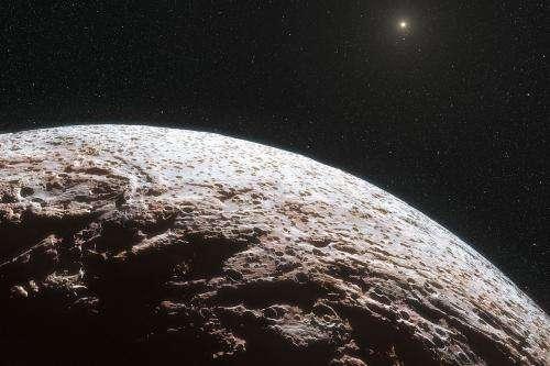 Dwarf planet makemake lacks atmosphere