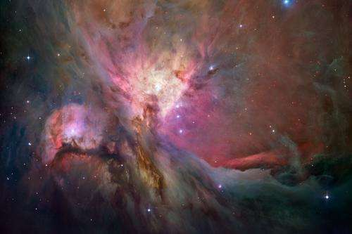 Searching for oxygen in space
