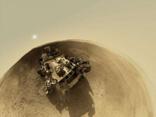A 360-degree 'street view' from Mars