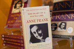 """A copy of, """"The Diary of a Young Girl: Anne Frank"""""""