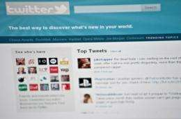 Advertisers can aim terse missives of 140 characters or less to Twitter users based on their geographic location