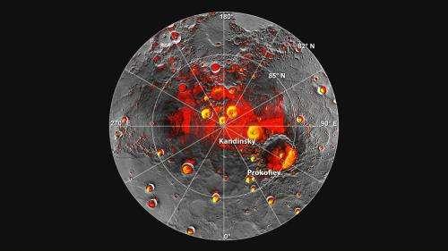 Altimeter built at Goddard helped identify ice on Mercury