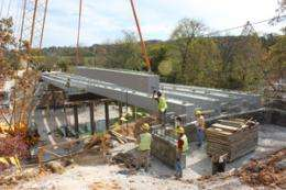 Ancient structural element leads to new ideas in bridge building