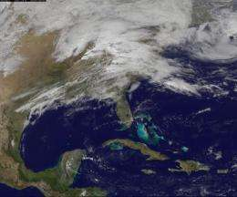 Another severe weather system seen on satellite movie from NASA