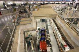 A particle accelerator