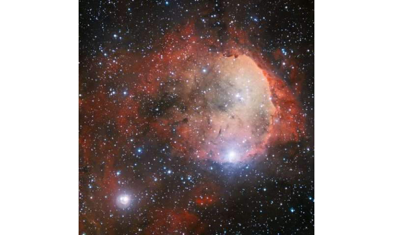 A pocket of star formation