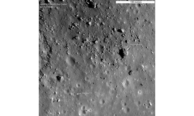 Apollo 16: What young really means on the moon