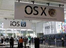 APPLE LIVE: Cook kicks off Apple's developers show