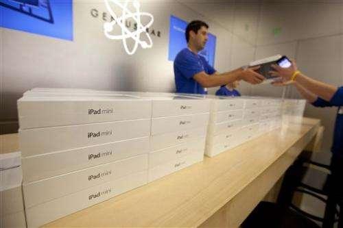 Apple shares drop 20 percent from peak