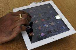 ARM Holdings, the British company whose microchip designs are used to help power Apple's iPads, posted strong profits